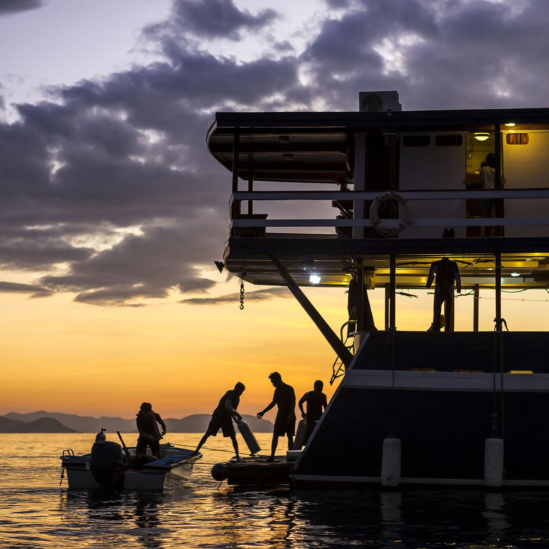 Lifestyle Photography : Diving - Joakim Leroy